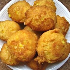 Corn Fritters @keyingredient