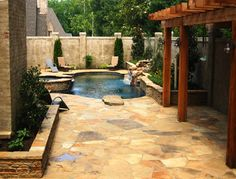 Pool Designs For Small Backyards | Small Yard Swimming Pool Design Ideas,  Pictures, Remodel