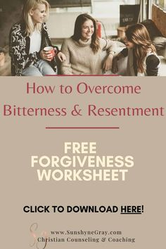 Learn how to overcome bitterness and resentment by forgiving first! It is impossible to heal without forgiveness. Getting rid of bitterness and resentment is vital to good mental health and wellness. What is forgiveness and why is it important? How do I heal from being hurt? How does process journaling help? Get all the answers here! Click through to download your free printable forgiveness journaling prompts. #forgiveness #wellness #christiancounseling #mental health #relationships #scriptures Difficult Relationship, Relationship Challenge, Marriage Relationship, Marriage Advice, Marriage Prayer, Biblical Marriage, Biblical Womanhood, Dealing With Difficult People, What Men Want