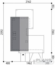 "Проект коттеджа ""Marivas"" | Plans | Проекти будинків House Outer Design, Sims House Design, House Front Design, Modern Bungalow House Design, Minimal House Design, Modern Villa Design, Model House Plan, New House Plans, Cabin Style Homes"