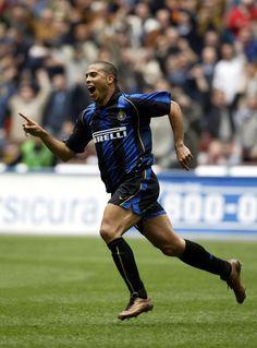 A Ronaldo goal celebration for Inter Milan.