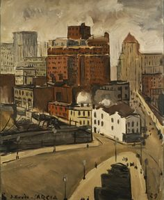 Joaquín Torres García (1874-1949). New York, 1929. Oil on canvas, 73 x 60 cm. This painting by Daura's close friend Joaquín Torres García is from the avant-garde art collection of the Museu de Montserrat, which also includes some work by Pierre Daura.