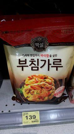 231. 韓國煎餅粉 ( 家樂福有賣 )