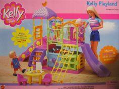 Barbie - Kelly Playland Playset with Slides & Platforms Mattel Barbie, Barbie Kids, Barbie Doll House, Vintage Barbie, Vintage Toys, Accessoires Barbie, Barbie Playsets, Baby Doll Nursery, Barbie Kelly