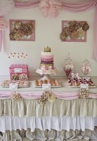 Home wedding reception eats table...yummy!