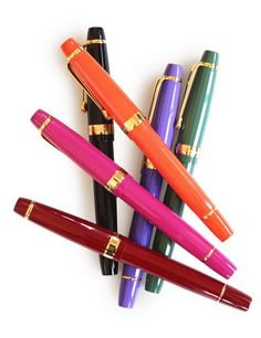 I only want the pink, black, purple and orange ones. ;)