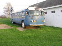 1948 Flxible Clipper and 1947 Flxible Clipper Bus.