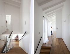 Architecture Design, Find My House White Interior Above Stairs House: Find my House in Ramat Hasharon by Levy Chamizer Architects