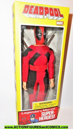 ONLY 5 Available BULK Vintage ORIGINAL Mego 8 inch Type-I//II T1//2 RED Boot x1
