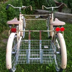Tandem...let's go grocery shopping...