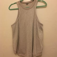 Kimchi floral tank top Grayish blue floral patterned lace top from Urban Outfitters. Slits are high on sides. Fits true to size. Tried it on but didn't love it. Cute when paired with long necklace and jeans! Urban Outfitters Tops Tank Tops