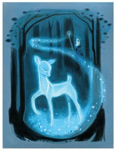 The Silver Doe: Art Print