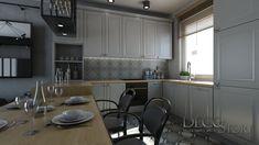 Loft House, Nordic Style, Scandinavian, Kitchen Ideas, Ikea, Kitchens, Kitchen Cabinets, Industrial, Living Room