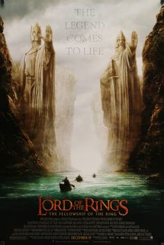 """Lord of the Rings: The Fellowship of the Ring (2001) Vintage Advance Poster - 27""""x 40"""""""
