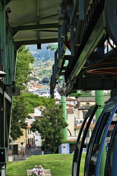 Skyway Lift to the Monte Palace - Funchal Madeira Portugal