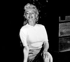 Marilyn during the filming of River of No Return in late 1953.