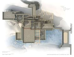 Casa de la cascada planos 2