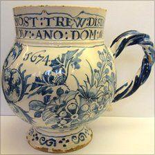 delft pottery | BBC News - Mug sells for £82,000 at Cheltenham auction