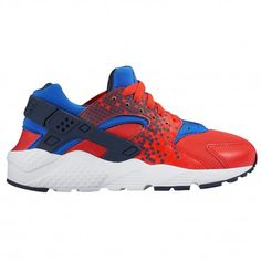 Nike Huarache Run - Boys' Grade School - Running - Shoes - Light Crimson/ Obsidian/Racer Blue/White-sku:04943604