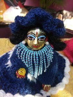 Laddu ji in blue sringar