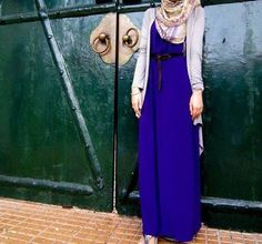 Great dress color #hijab #fashion