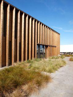Liposthey, France  Farmer's office  Prix de la Première Oeuvre 2011  Vanessa Larrère Architecte