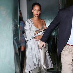 Even Rihanna Channels '90s Kate Moss When in London