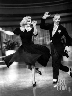 Swing Time, Ginger Rogers, Fred Astaire, 1936 Photo at Art.com