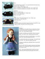 PATRON GRATIS ANNA (FROZEN) AMIGURUMI 9499 | PATRONES AMIGURUMIS GRATIS Crochet Doll Pattern, Crochet Patterns Amigurumi, Amigurumi Doll, Crochet Dolls, Anna Frozen, Frozen Crochet, Frozen Dolls, Crochet Doll Clothes, Stuffed Toys Patterns