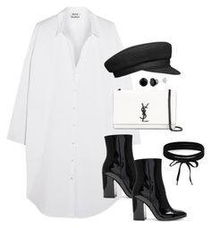 Untitled #3148 by theaverageauburn on Polyvore featuring Acne Studios, Gianvito Rossi, Yves Saint Laurent and Boohoo
