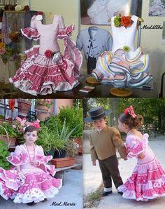 MODA INFANTIL - MODA FLAMENCA 2014, (Trajes Flamenca Granada)