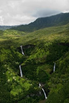 Kauai Waterfalls by Rahul Nanavati