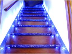 automatic stair lighting automatic light stairs illumination of stair steps automatic stair lighting pinterest automatic led stair lighting