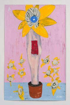 Nicola Tyson Flowerpot