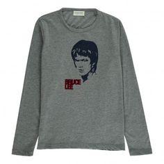 Bruce T-Shirt Heather grey  Simple Kids
