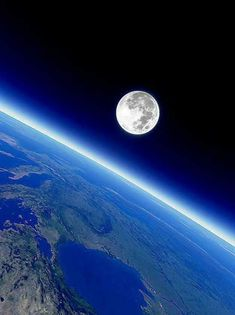 power of the cosmos Earth And Space, Planet Earth From Space, Cosmos, Space Planets, Space And Astronomy, Planets Wallpaper, Galaxy Wallpaper, Moon Pictures, Full Moon Photos