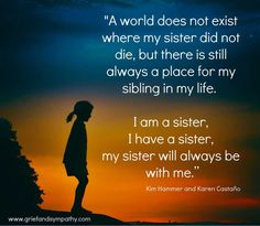 Loss Of A Sister, Prayers For Sister, Sister Poems, Love My Sister, Brother Quotes, Sister Qoutes, Big Sis, Losing A Sister Quotes, Sister In Heaven