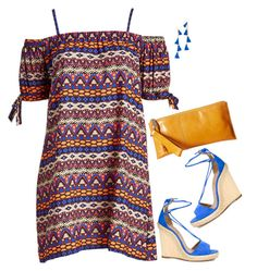 """Aquazzura"" by tina-pieterse ❤ liked on Polyvore featuring Aquazzura, HOBO, Vanessa Mooney and plus size dresses"