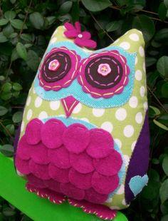 felt owl!