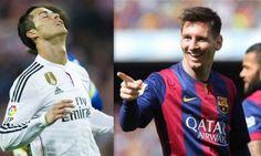 """Messi já """"apanhou"""" Cristiano Ronaldo na luta pela Bota de Ouro http://angorussia.com/desporto/messi-ja-apanhou-cristiano-ronaldo-na-luta-pela-bota-de-ouro/"""