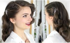 How to do a 40s brush out on long hair