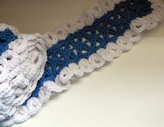 Crochet Mile-a-Minute Scarf pattern by Mary Jane Protus