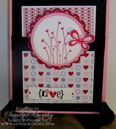 stampin up valentine's card ideas | Handmade Stampin' Up! Valentines Day Cards : Let's Celebrate!