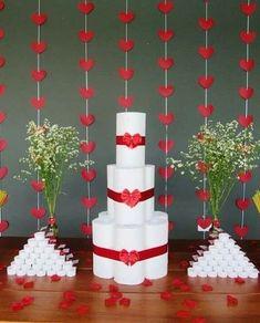Para você se inspirar 🤩😍 MARCA A MADRINHA QUER IRÁ TE AJUDAR COM SEU CHÁ DE PANELA/cozinha . Não esqueça de salvar essas inspirações ❤️ .… 70th Anniversary, Joanns Fabric And Crafts, Paint Brushes, Marry Me, Open House, Bridal Shower, Wedding Decorations, Valentines, Shapes