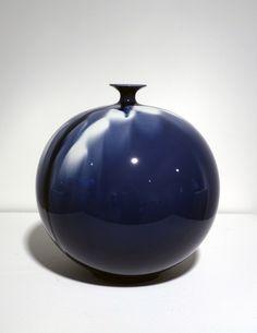 Tokuda Yasokichi IV, 'Jar - Blue Diamond Flower 02,' 2010, Onishi Gallery