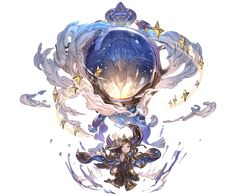 View an image titled 'Arulumaya 5 Star Art' in our Granblue Fantasy art gallery featuring official character designs, concept art, and promo pictures. Game Character Design, Fantasy Character Design, Character Design Inspiration, Character Concept, Character Art, China Art, Environment Concept Art, Star Art, Fantasy Characters
