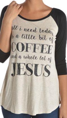 Coffee Jesus Graphic Baseball Tee, Jesus Shirt, Coffee Shirt, Boho by SavChicBoutique on Etsy