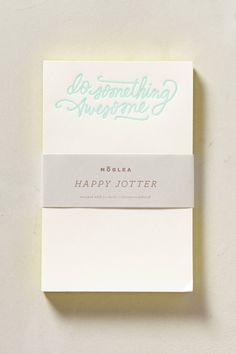Moglea Happy Jotter Notepad
