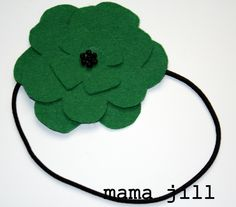 my heart is yours {formerly known as mamajill}: DIY dollar store craft #2: st patty's day headband
