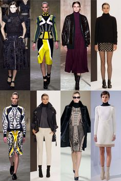 The London look: the best trends from London fashion week A/W 2013 gallery - Vogue Australia